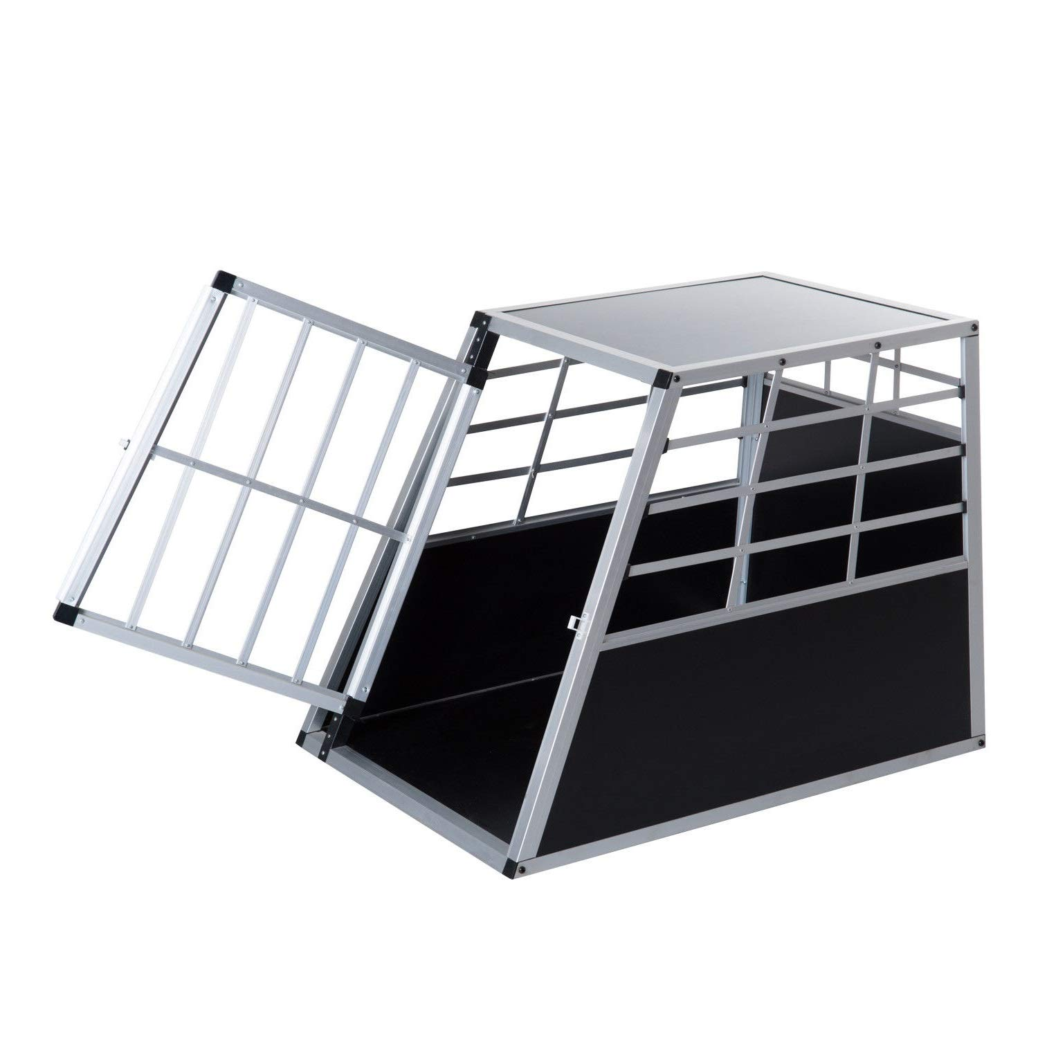 36  Aluminum Dog Cage Pet Travel Car Crate Kennel Playpen