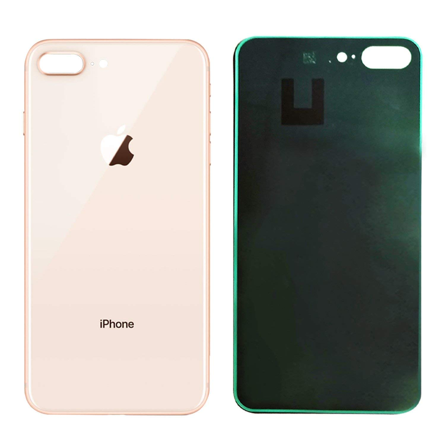 uk availability 75213 bf1e1 Apple iPhone 8 Plus Replacement Back Glass Cover Back Battery Door  w/Pre-Installed Adhesive,Best Version Apple iPhone 8 Plus All Models OEM ...