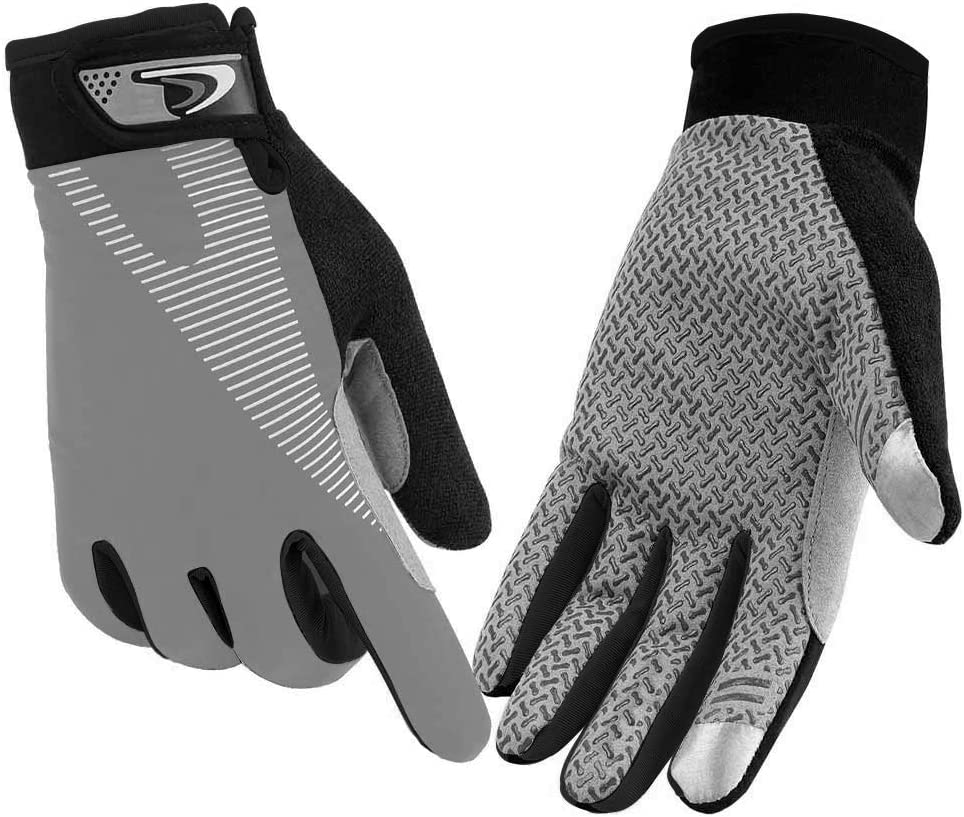 Fudosan Cycling Gloves Touchscreen Ultimate Frisbee Gloves