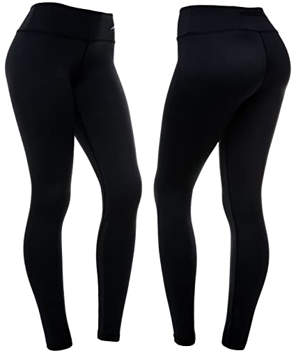 Amazon Com Compressionz High Waisted Women S Leggings Smart