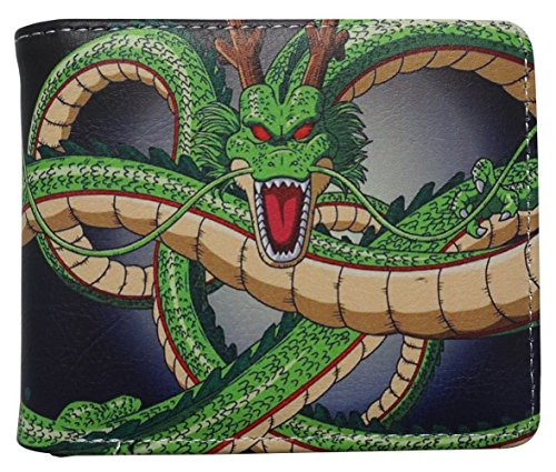 Dragon Ball Z wallet - Anime accessory bi-fold (Shenron)