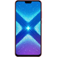 Honor 8X Dual SIM - 128GB, 4GB RAM, 4G LTE, Red (JSN-L22)