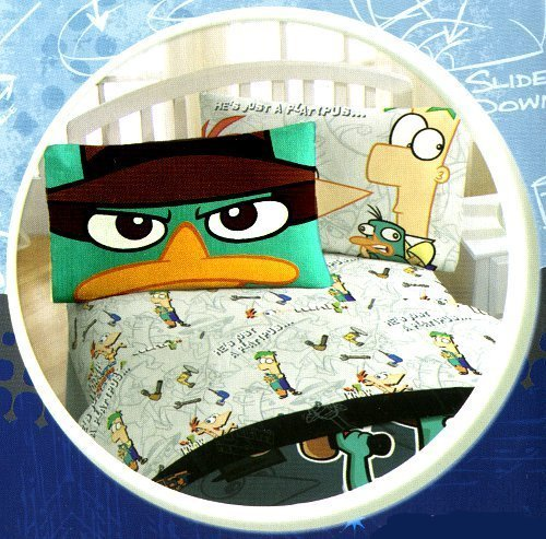 """UPC 322812851114, Phineas and Ferb """"Agent P"""" Twin Sheet Set"""