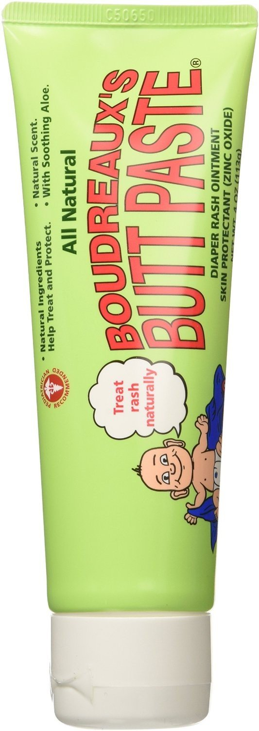 Boudreaux's All Natural Butt Paste 4 oz (Pack of 11)