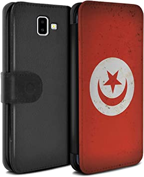 Eswish Coque Etui Housse Cuir Pu Case Cover Pour Samsung Galaxy J6