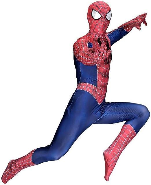 ERTSDFXA Traje Clásico De Spider Man Adulto Impresión 3D Traje De ...