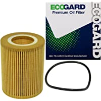 ECOGARD X5692 Cartridge Engine Oil Filter for Conventional Oil - Premium Replacement Fits Volvo XC90, XC60, XC70, S80…