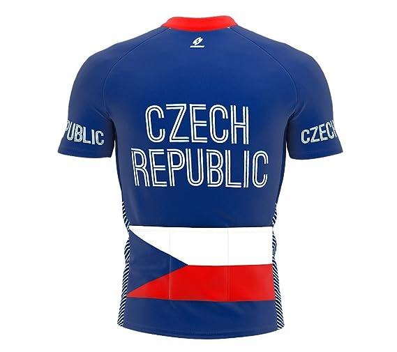 Amazon.com  ScudoPro Czech Republic Full Zipper Bike Short Sleeve Cycling  Jersey for Women  Clothing 35ad696a3