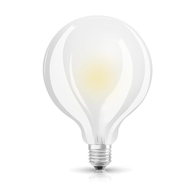 5 opinioni per Osram St Globe Lampada LED E27, 7 W, Luce Calda, 1 Lamp.