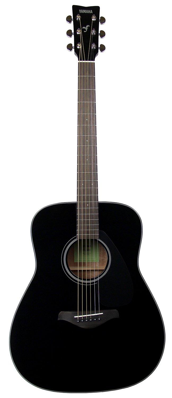 Yamaha FG800 Solid Top Dreadnought Acoustic Guitar Black