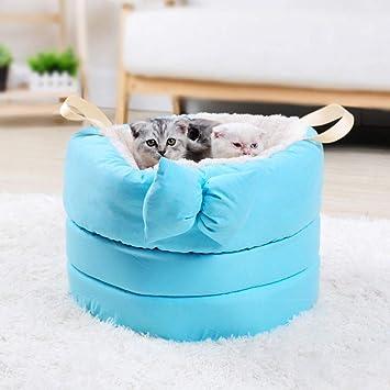 H&N Sueño Profundo Nido para Mascotas Arco De Felpa Perrera Gato Litera Mascota Saco De Dormir
