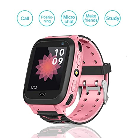 Amazon.com: Mugast Locator GSM GPS Smart Watch, Bluetooth ...