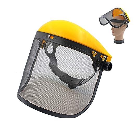 Máscara de malla diseño de seguridad protector de cara Segadora ...