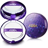 AQUA+ Aurora Moisturizing Air Cushion Foundation with active Hyaluronic Acid (CC cream)
