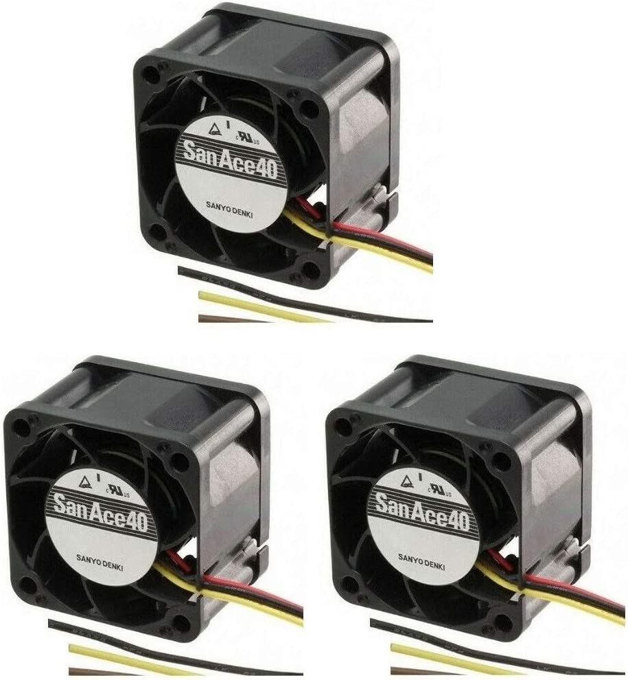 Dell 7048 (3 Pack) Extra-Cooling Plug-and-PlayQuiet Replacement Fans for Dell PowerConnect 7048