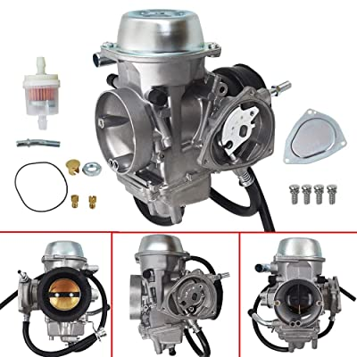 labwork Carburetor Fit for Yamaha Grizzly 600 660 YFM600 YFM660 ATV and Intake Manifold Boot: Automotive