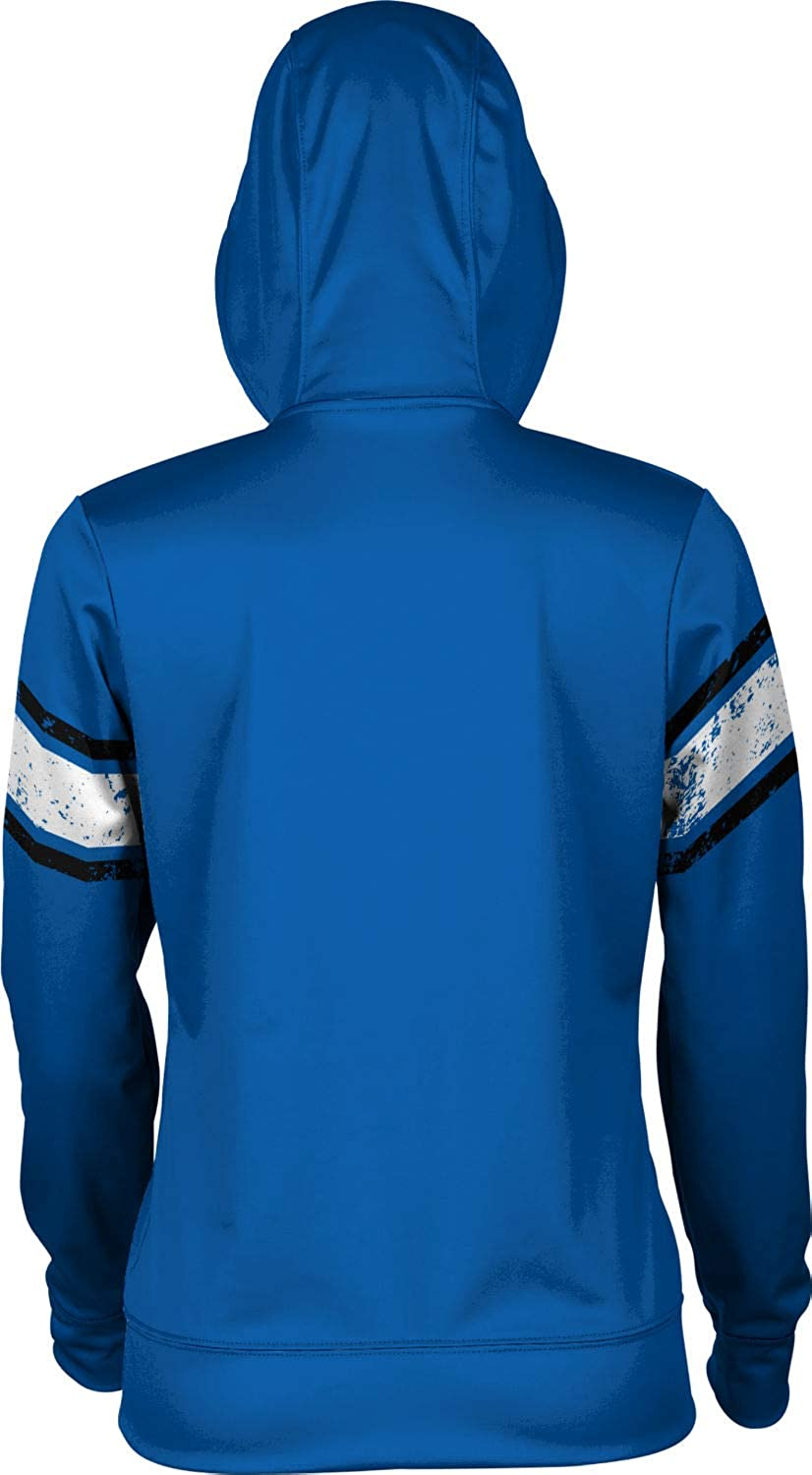 School Spirit Sweatshirt End Zone Hampton University Girls Pullover Hoodie