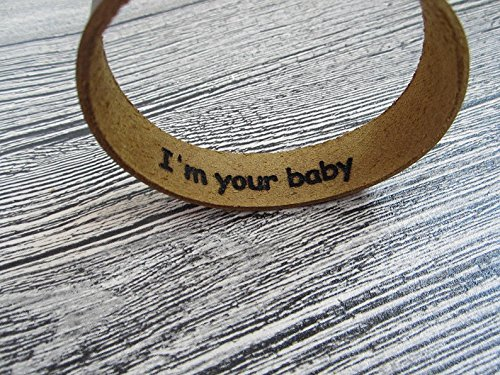 88e3931e511a8 Amazon.com: Personalized Hidden Message Bracelet,Custom Engraved ...