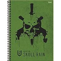 Caderno Universitário Games Ubisoft, Foroni 63.9651-4, Multicor