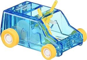 Midori Desktop Mini Cleaner and Dust Sweep, Blue Transparent (65613006)
