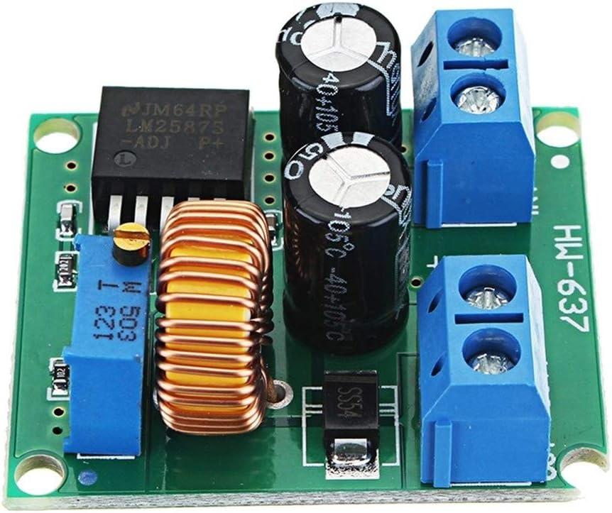 El Gasto Fijo Módulo de Alta eficiencia Boost Ajustable LM2587 de 3V / 5V / 12V a 19V / 24V / 30V / 36V DC Módulo de Fuente de alimentación