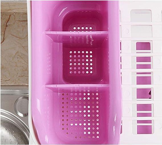 despensas TYY-guang Armario de la Cocina Estante Rejilla met/álica de sujeci/ón Independiente Estante de la Cocina Estante de Almacenamiento Ampliable Plataforma para armarios de Cocina encimeras