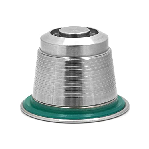 Donpow Cápsula reutilizable de metal de acero inoxidable ...