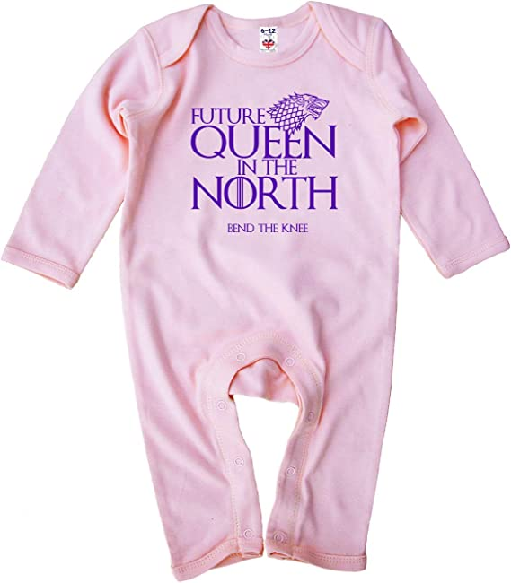 GOT Image is Everything Baby M/ädchen Strampler Future Queen in The North