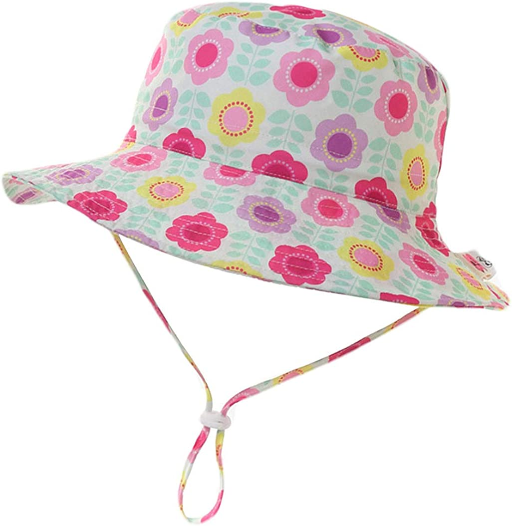Sombrero del Bebé Protección Solar Bebé Niño Verano Sombreros de Playa Sombrero del Niño Sombreros del Sol Sombrero del Cubo del Niño