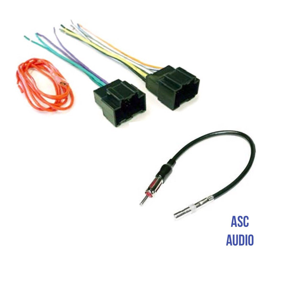 asc audio car stereo radio wire harness plug and antenna adapter asc audio car stereo radio wire harness plug and antenna adapter for some chevrolet 2007 2010 cobalt 2006 2011 hhr 2008 12 bu pontiac 07 10 g5
