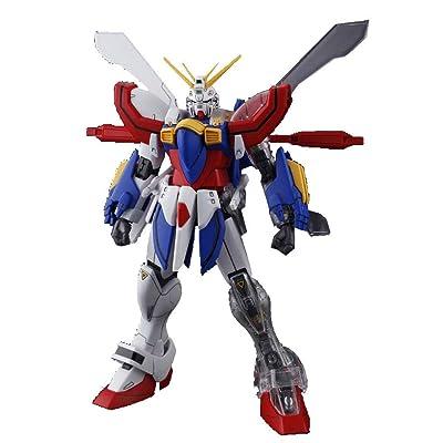 Bandai Hobby MG God Gundam G Gundam, BAN106042: Toys & Games