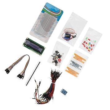 SM Sunni Mix 1602 LCD Starter Kit para Arduino, Proyecto LCD ...