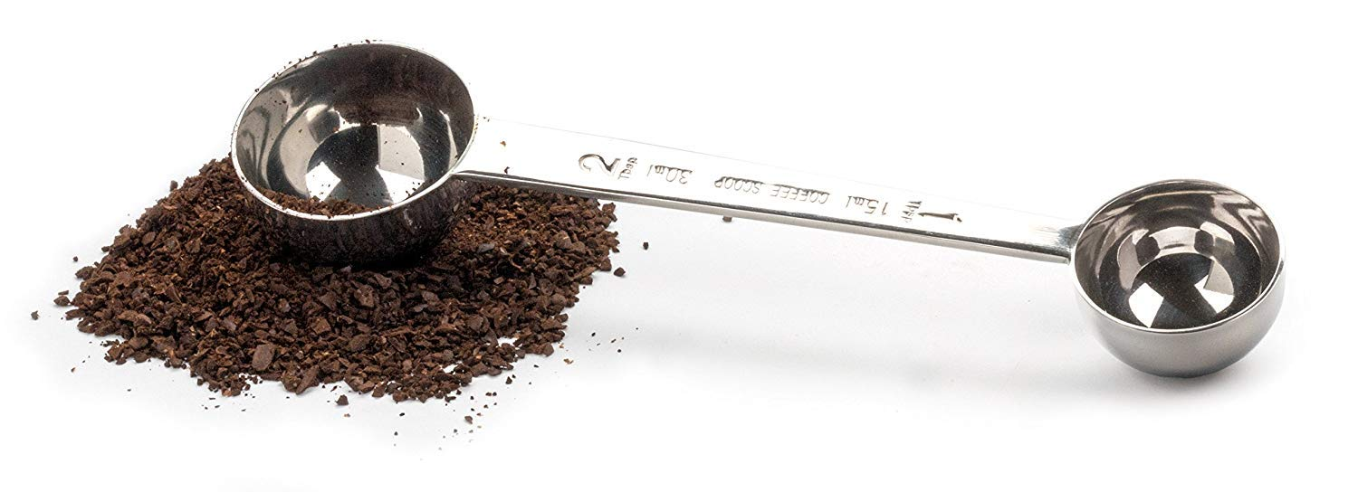 Coffee Scoop Stainless Steel Tablespoon long handled Spoons 1TPS 2TPS (15&30ML) by IZELOKAY (Image #2)