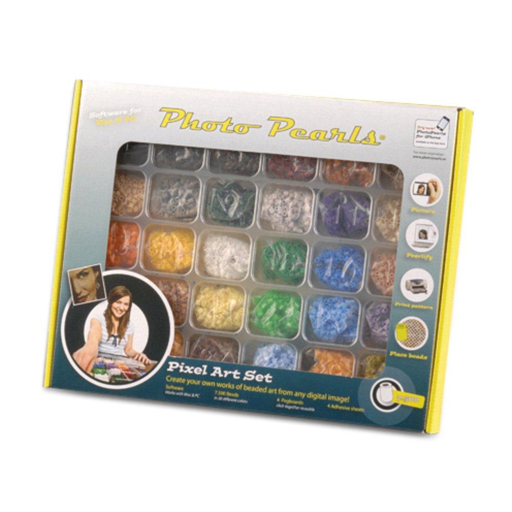 colore nero numero 1 confezione da 1100 pezzi Efco Photo Pearls 5/x 5/mm perline in plastica