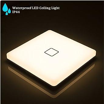 LED-Deckenleuchte, 24W Deckenleuchte, wasserdicht IP44, hohe ...