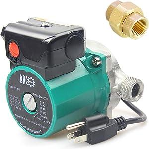 "BACOENG 3/4"" 110V NPT Hot Water Circulation Pump Circulating Pump For Solar Heater Circulator US Plug"