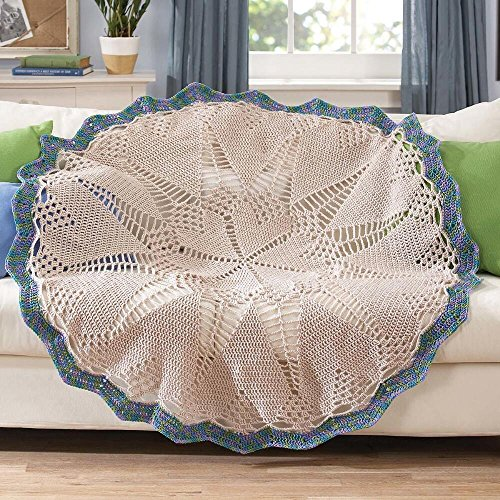 Herrschners® Doily Heart Crochet Afghan Kit by Herrschners®