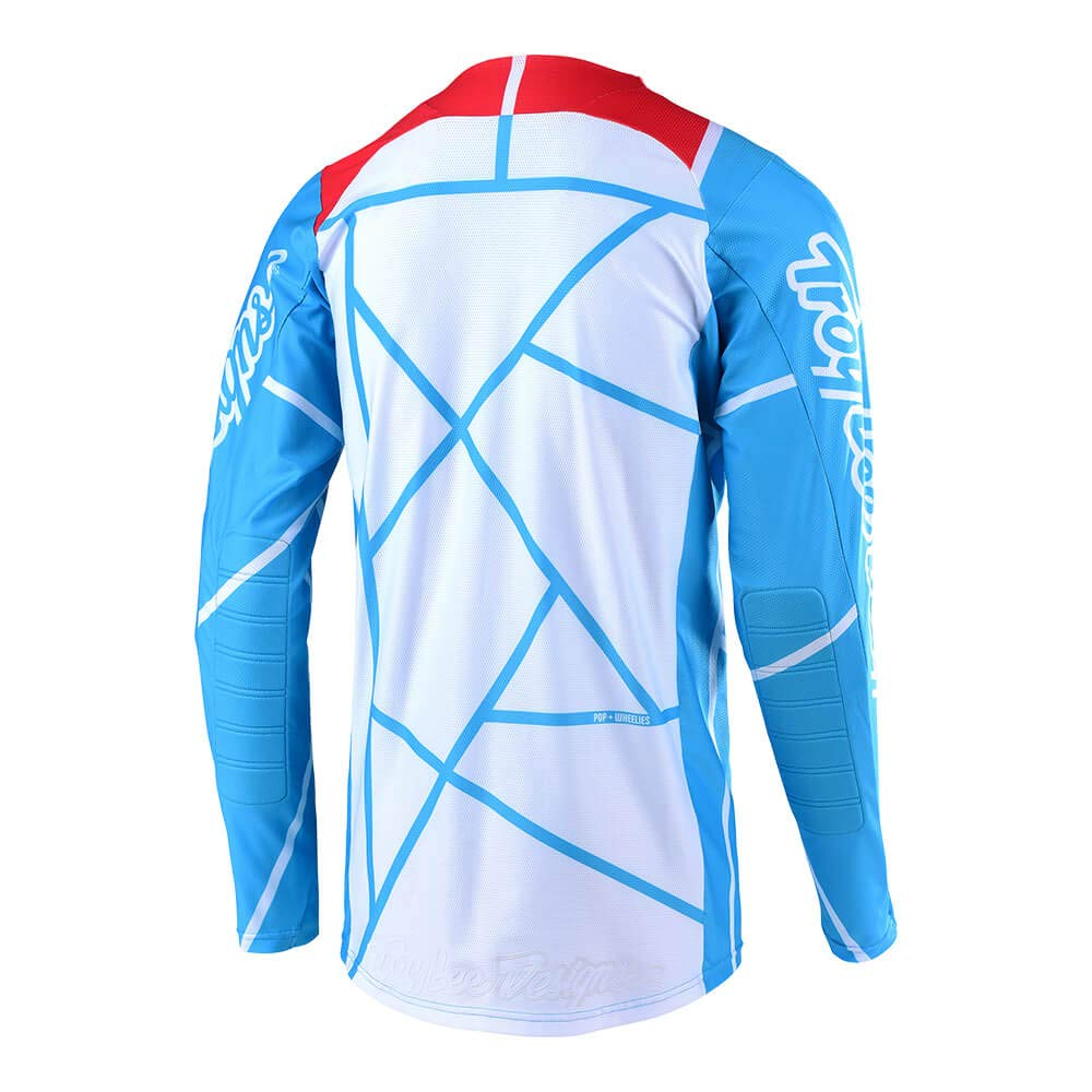 Troy Lee Designs Mens Off-Road Motocross Motorcycle SE Air Metric Jersey Red//Navy, XX-Large