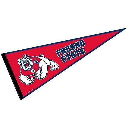 amazon com wincraft fresno state pennant full size felt sports