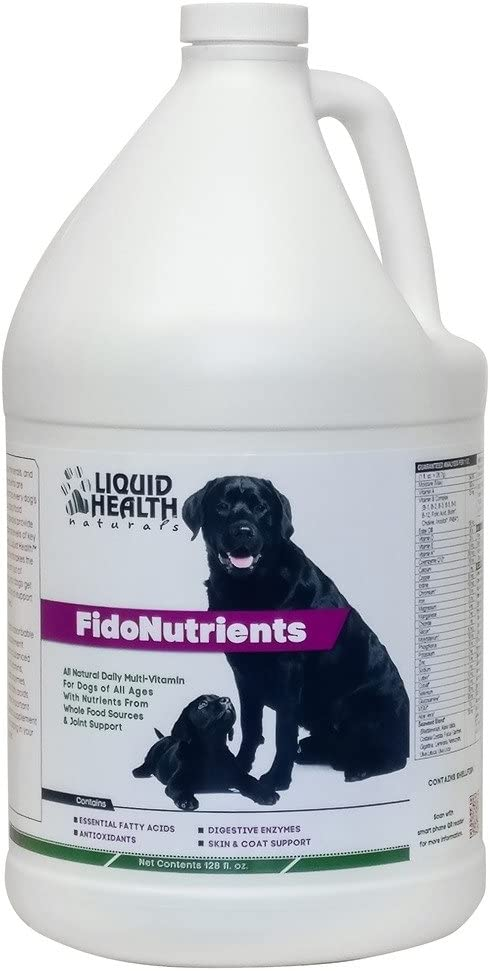 Liquid Health FidoNutrients 128 oz Liquid
