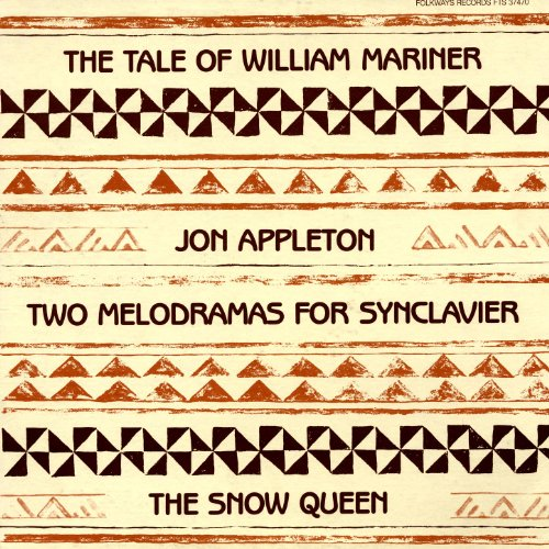 Jon Appleton Two Melodramas For Synclavier