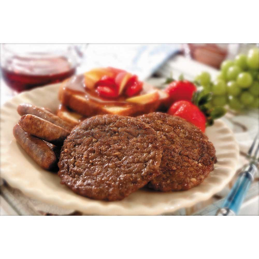 Odoms Tennessee Pride All Natural Fully Cooked Formed Trimming Sausage Patty, 12 Pound -- 1 each.