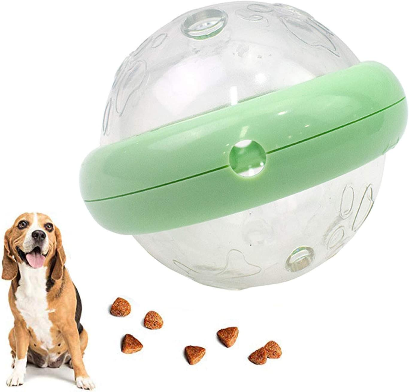 GACYSMD Pet Food Feeder IQ Treat Ball Interactive Dog Cats Toys,Pet Chewing Toy, Leaking Food Ball(Slow Feeder, Dog Puzzle Toys, Alternative to Snuffle Mat), Perfect Dog Gifts, Dog Toys