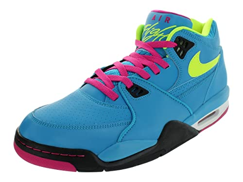 f537e458c2 Nike - Air Flight '89 Dynamic Blu/Fireberry (Rosso)/Nero/Volt 306252 ...