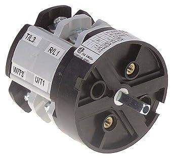 Comenda CA0250004 - Interruptor giratorio para lavavajillas AC122 ...