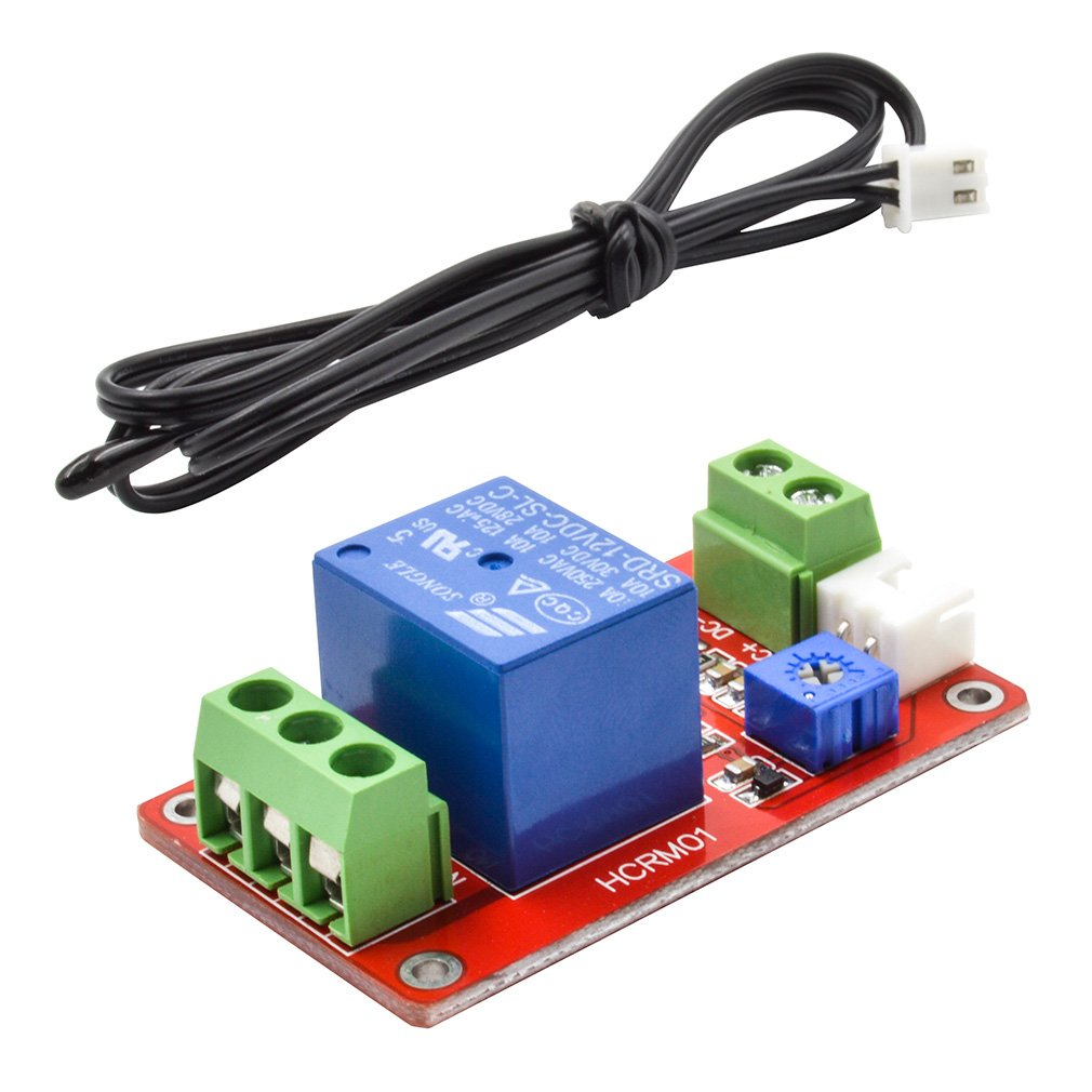 GERI 1 Single-Channel Thermal Relay Control Sensor Module Temperature Switch relay 12V R009M-1