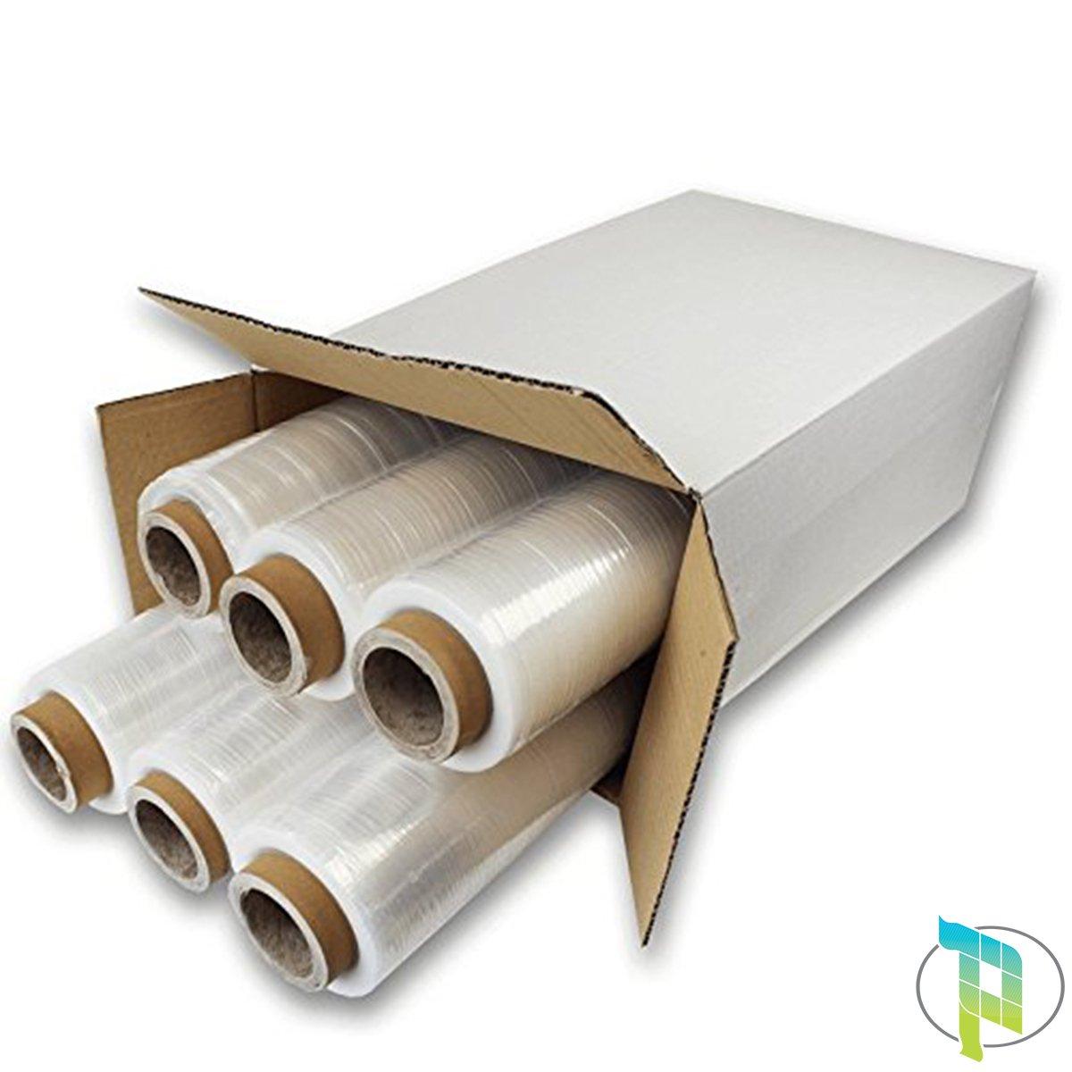 Palucart® Pellicola Film estensibile manuale x6, trasparente, spessore 23 my, 2,2Kg, altezza 500 mm Palucart®
