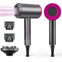 1800W Professional Hair Dryer with Diffuser Ionic Conditioning - Powerful, Fast Hairdryer Blow Dryer,AC Motor Heat Hot…