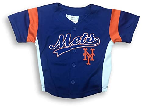info for 72206 77125 Amazon.com : OTS New York Mets Button Down Infant & Toddler ...