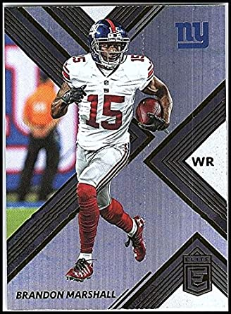 lowest price 9210d b34ed Amazon.com: Football NFL 2017 Panini Elite #76 Brandon ...